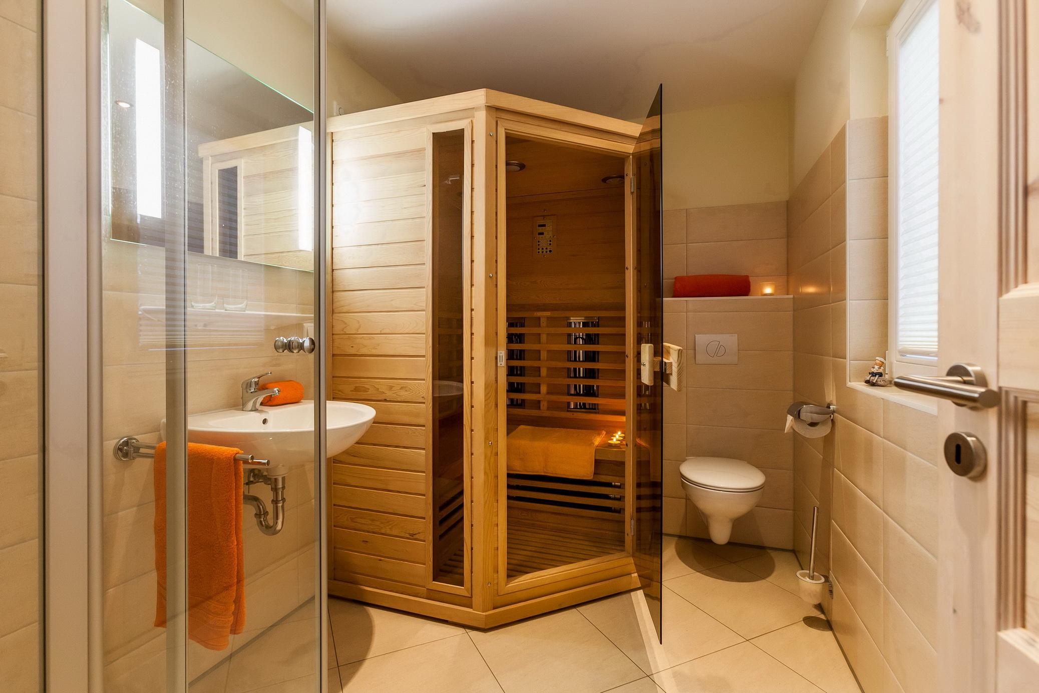 Ferienhaus Ostseedüne Rügen Glowe Sauna