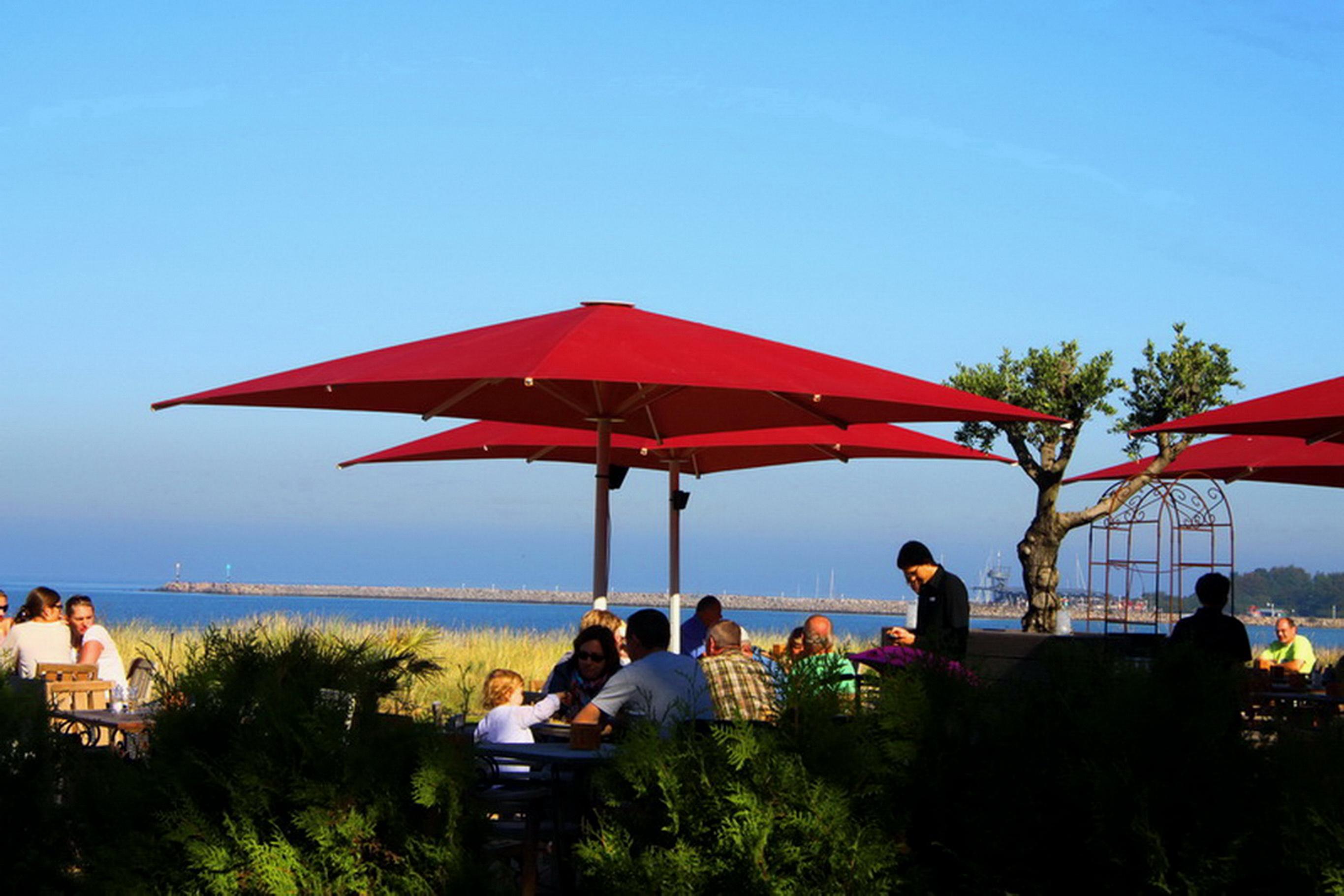 Ferienhaus Ostseedüne Rügen Glowe Strandrestaurant