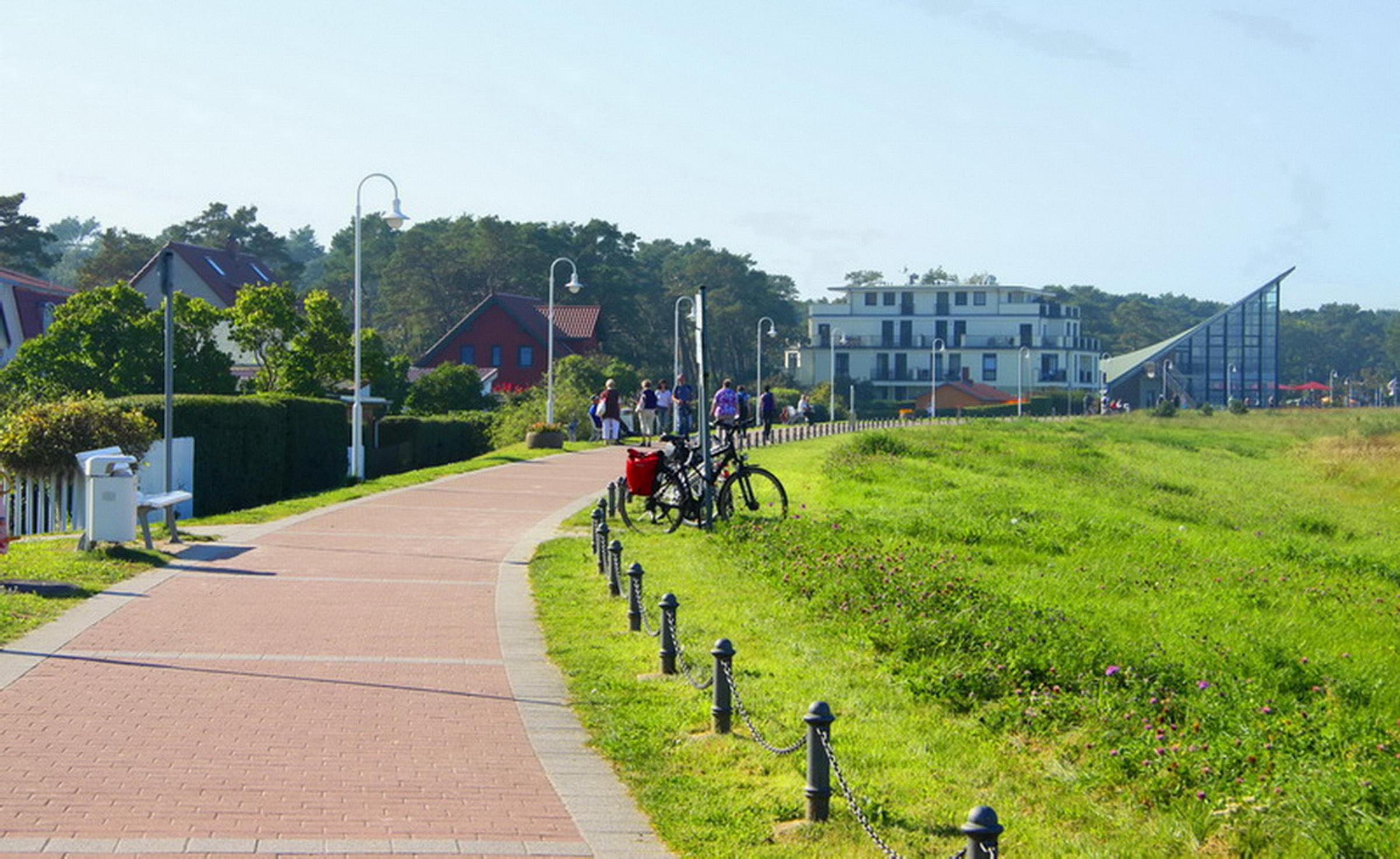 Ferienhaus Ostseedüne Rügen Glowe Uferpromenade