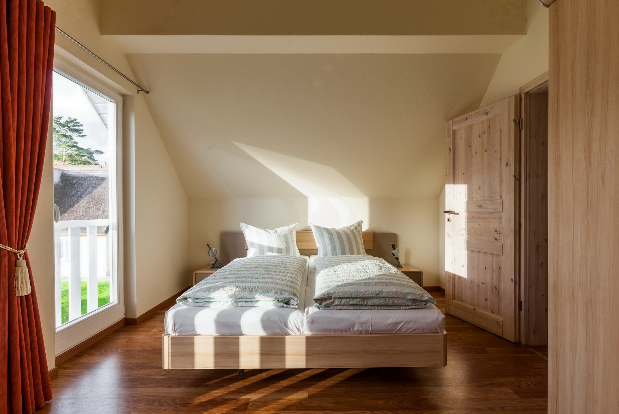 Ferienhaus Ostseedüne Rügen Glowe Schlafenzimmer